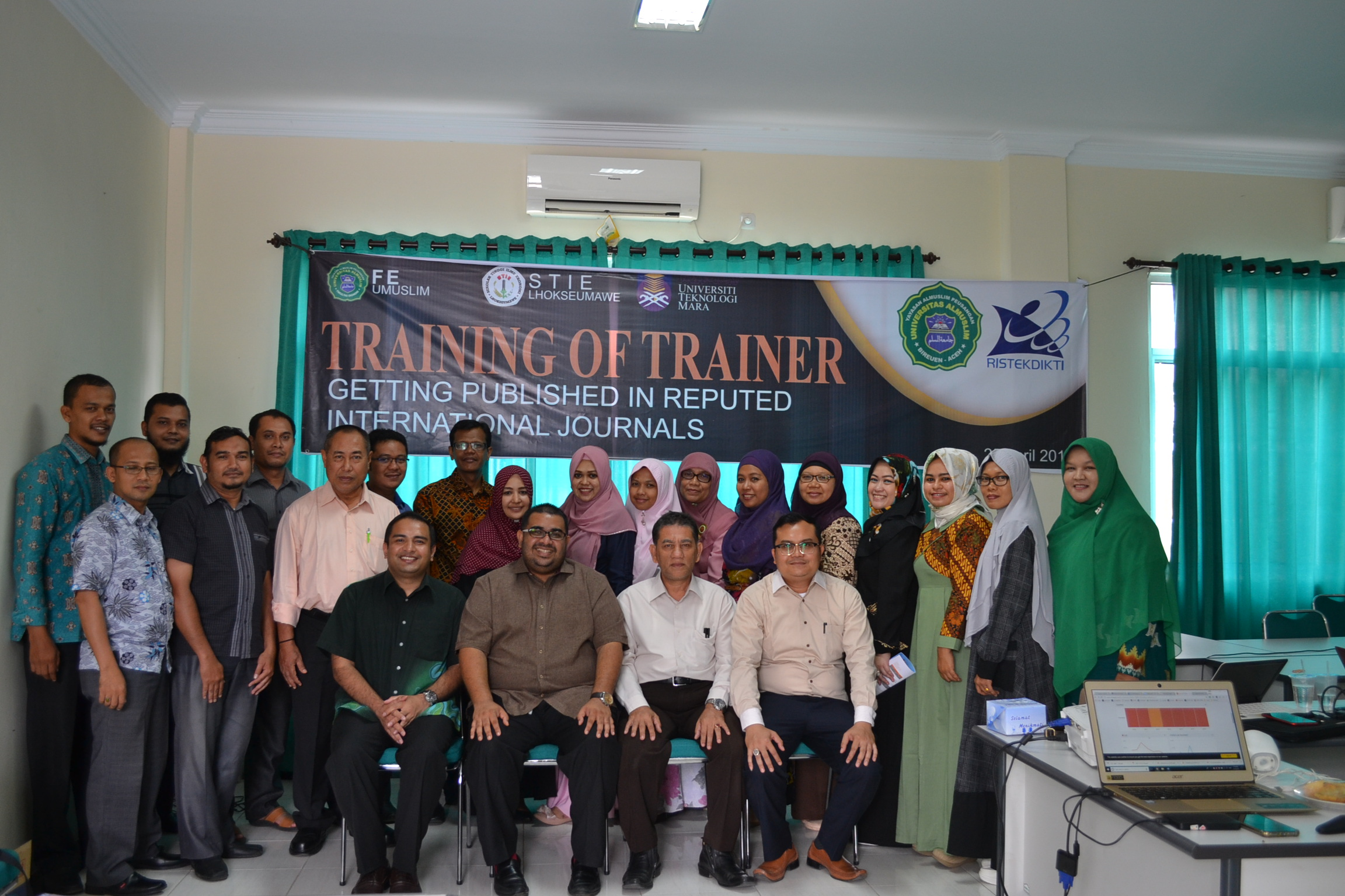 Training of Trainer writing